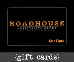 T Street Roadhouse | Hospitality Group Gift Card